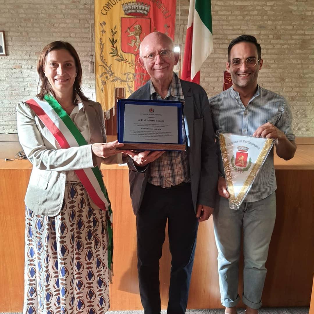Alberto-Capatti-cittadino-onorario-di-Forlimpopoli