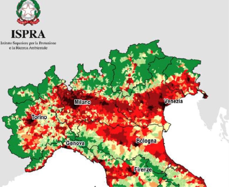 Consumo-suolo-Nord-Italia