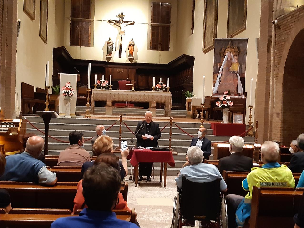 Il Cardinale Bassetti alla presentazione del libro di Cappelli