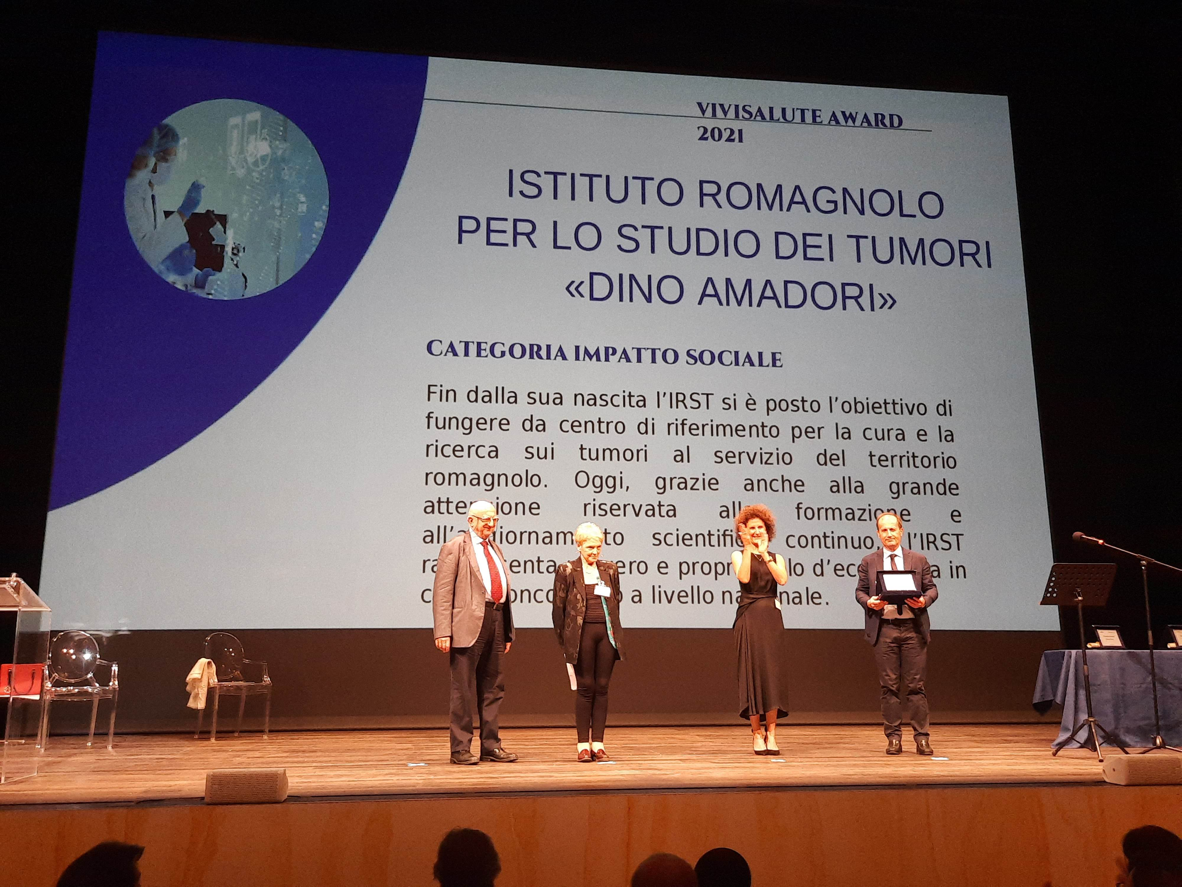 Irst-premiato-Vivisalute-award