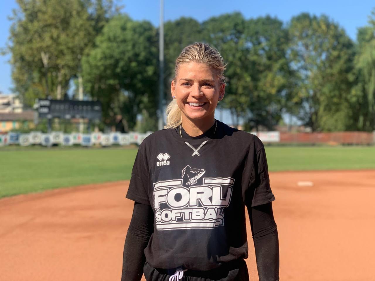 Samantha-Leigh-Sheeley softball Poderi Dal Nespoli Forlì