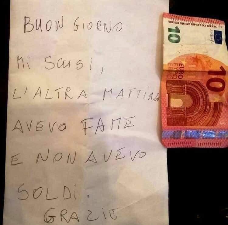 la dignità di un italiano