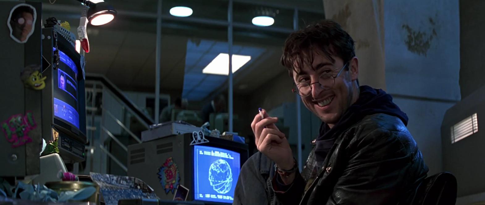 Boris Grishenko with the best hacker grin