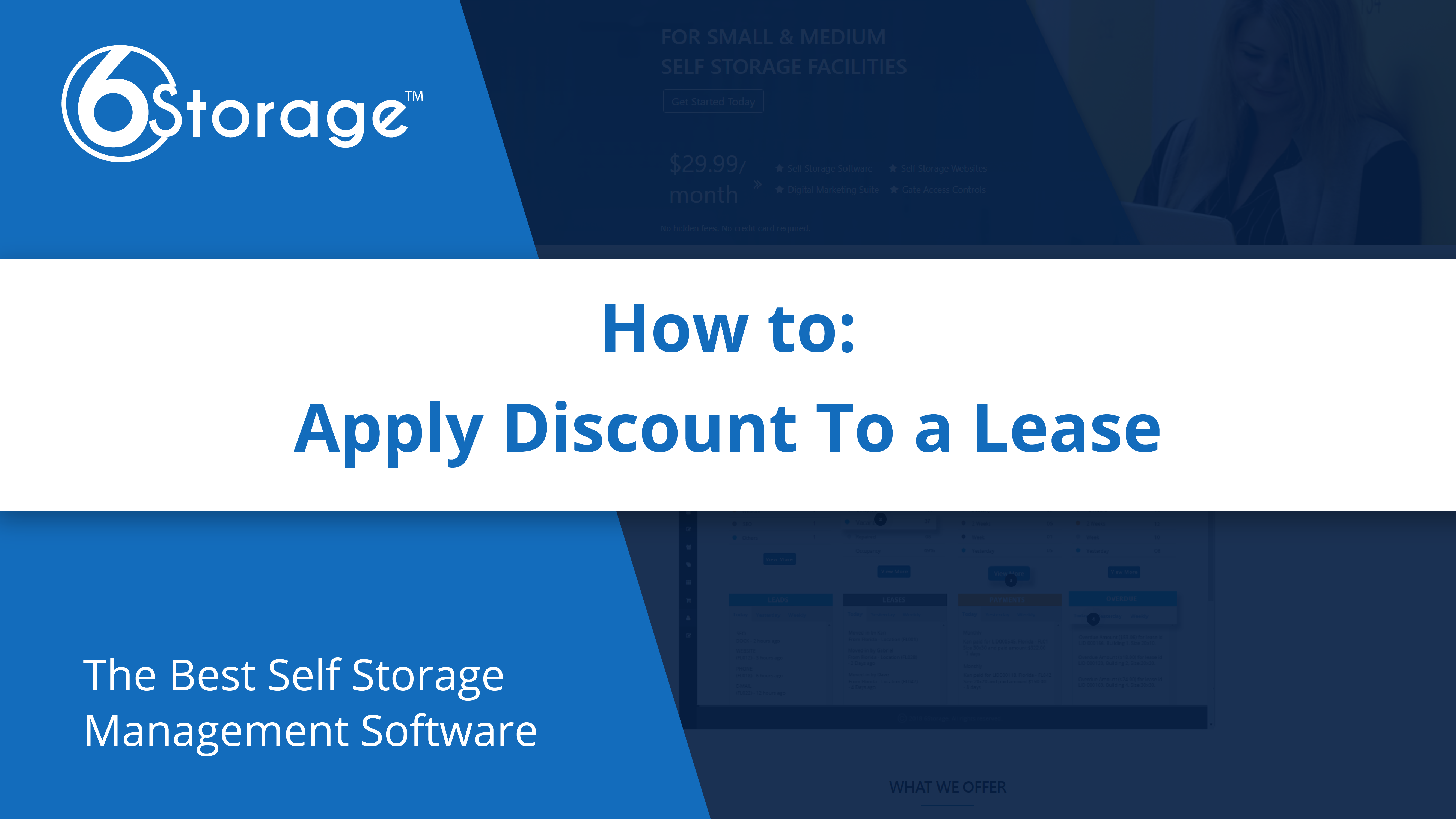 Apply Discount to Lease