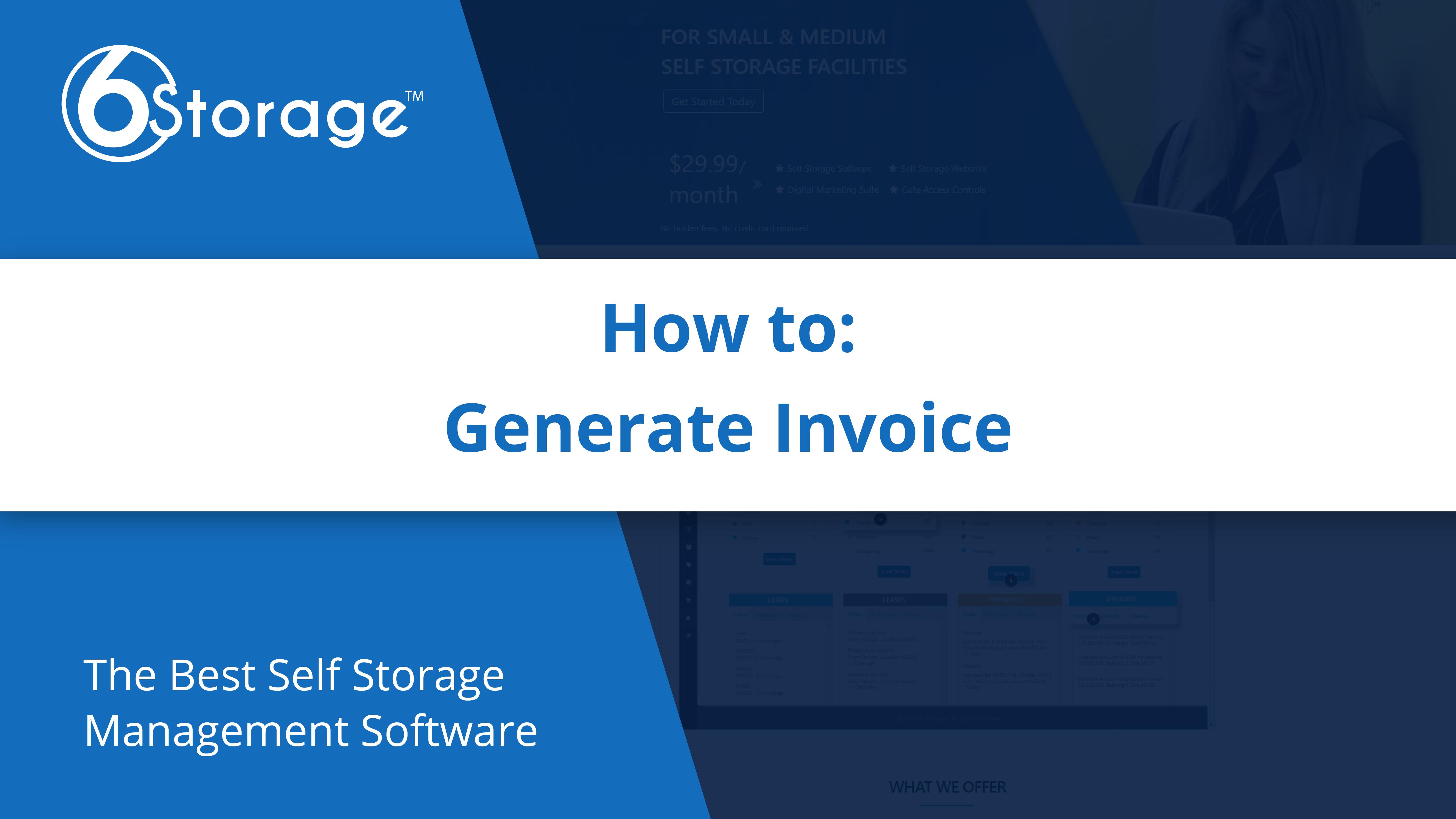 Generate Invoice