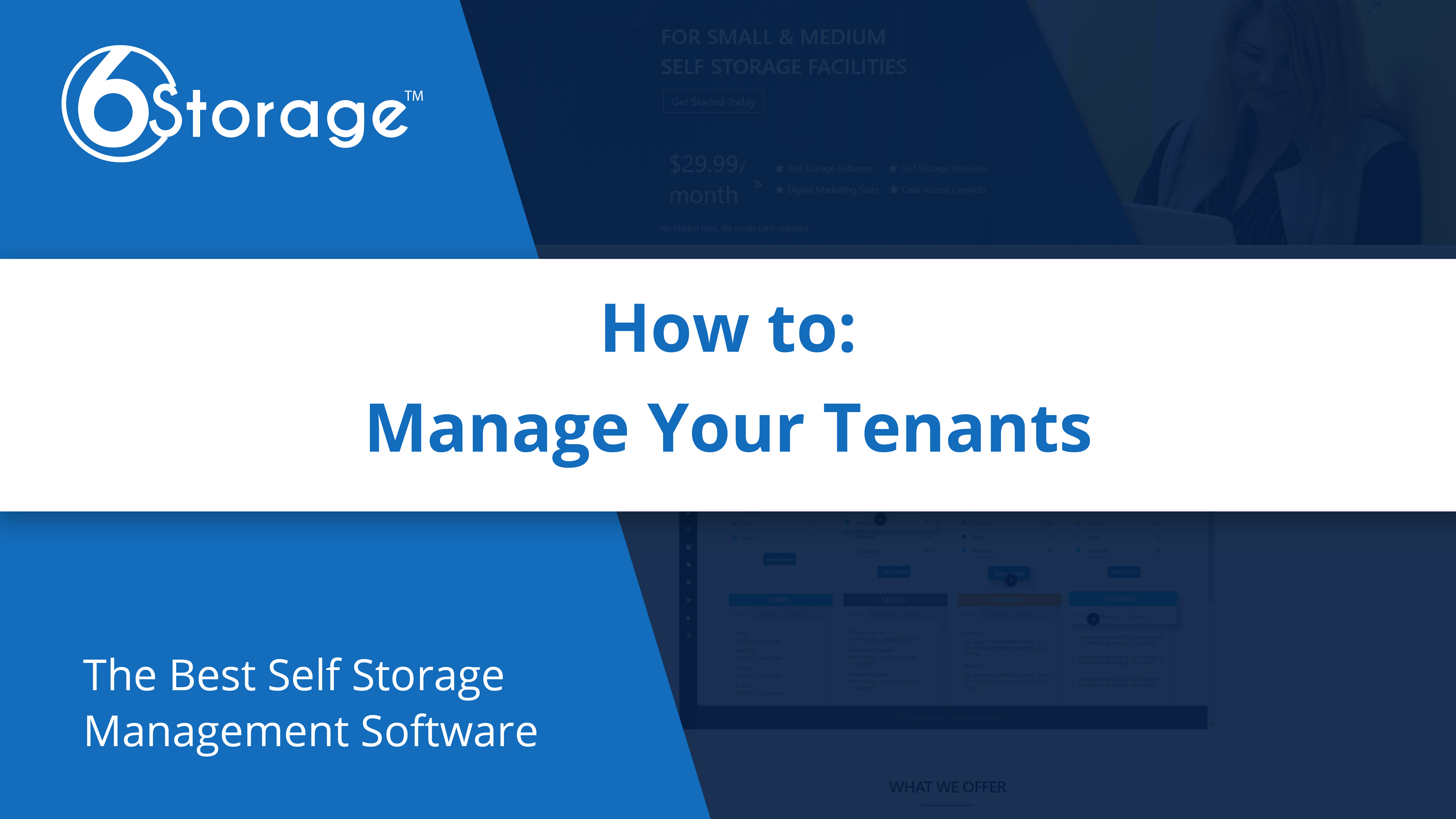 Manage Tenants