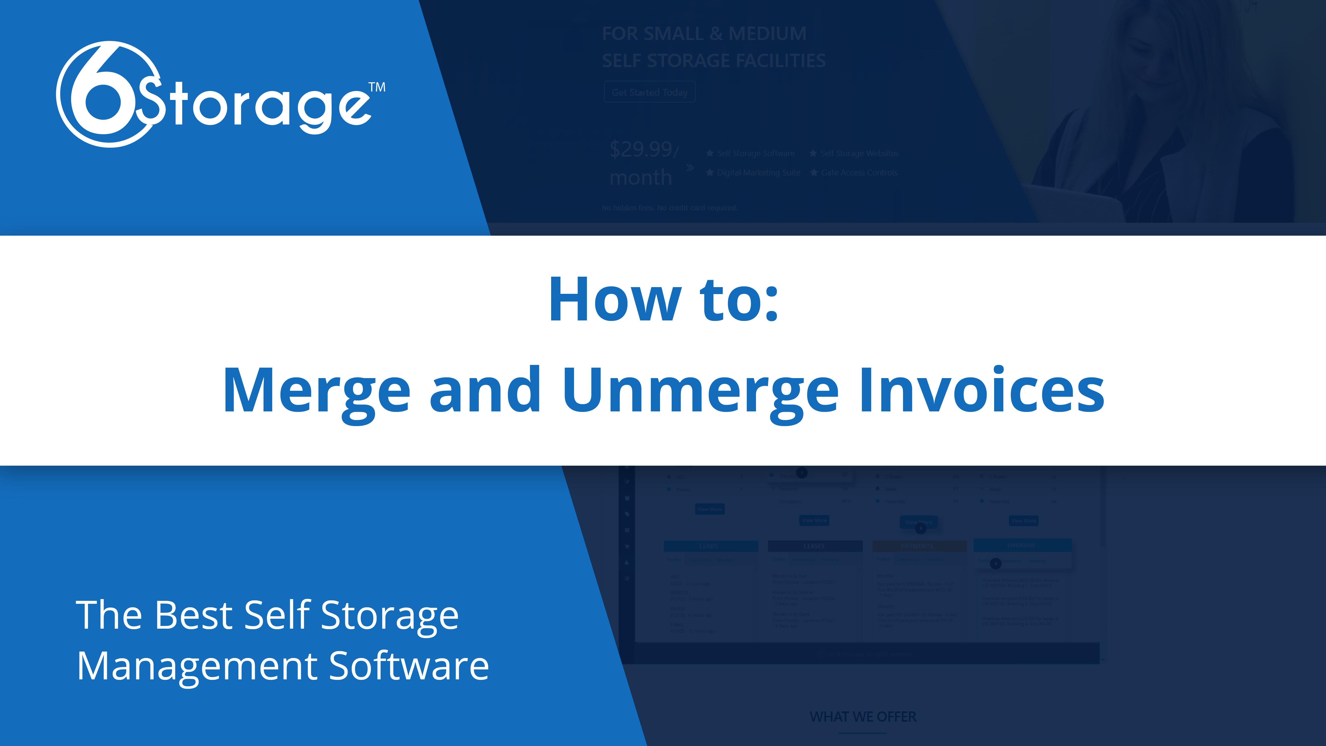 Merge Unmerge Invoice