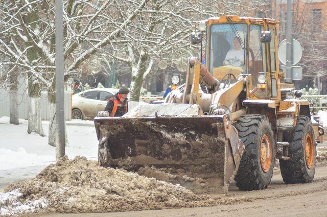 За неделю с петербургских улиц убрали более 38 тыс. кубометров снега