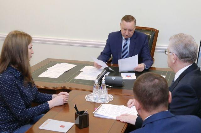 Беглов пообещал озвучить шаги по нормализации жизни в Петербурге в ближайшие дни