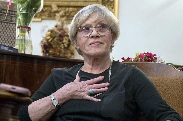 Состояние госпитализированной с коронавирусом Алисы Фрейндлих остается стабильно тяжелым