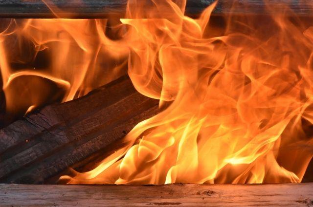 Ночью в Ленобласти сгорели семь грузовиков