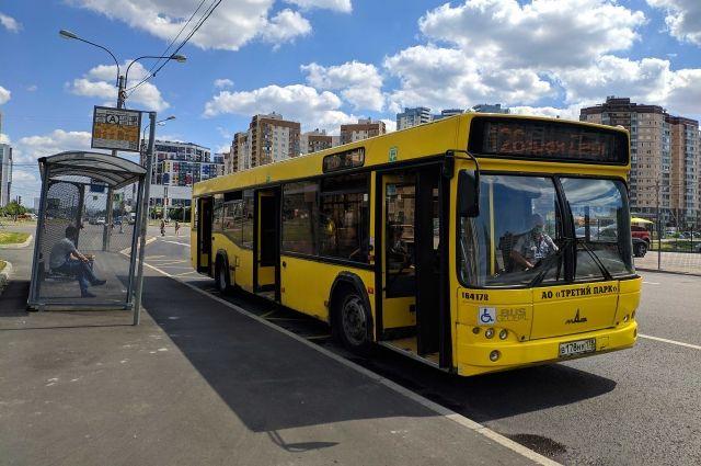 За год Смольный закупит 2800 автобусов для замены ими маршруток