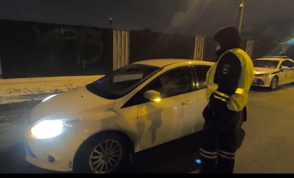 За три дня в Петербурге и Ленобласти задержали 110 пьяных водителей