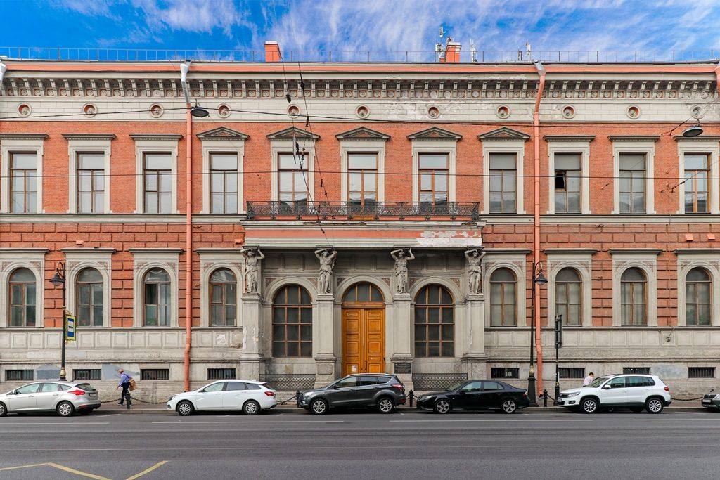 В бывшем доме Департамента уделов на Литейном почти завершили реставрацию