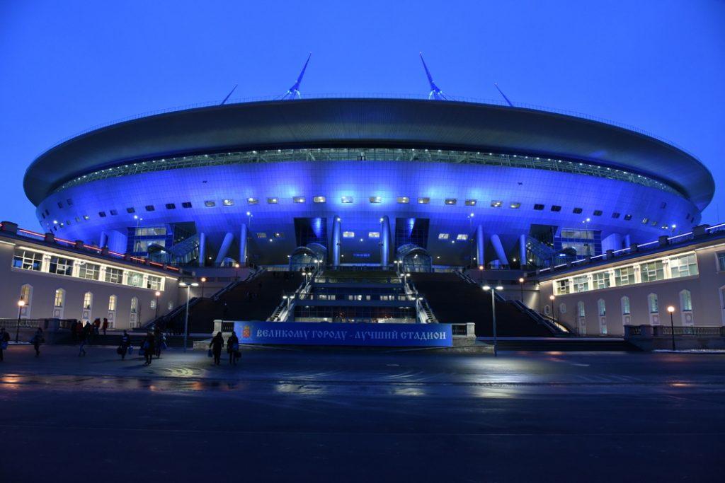 «Газпром Арена» заняла 11-е место в рейтинге лучших стадионов мира.
