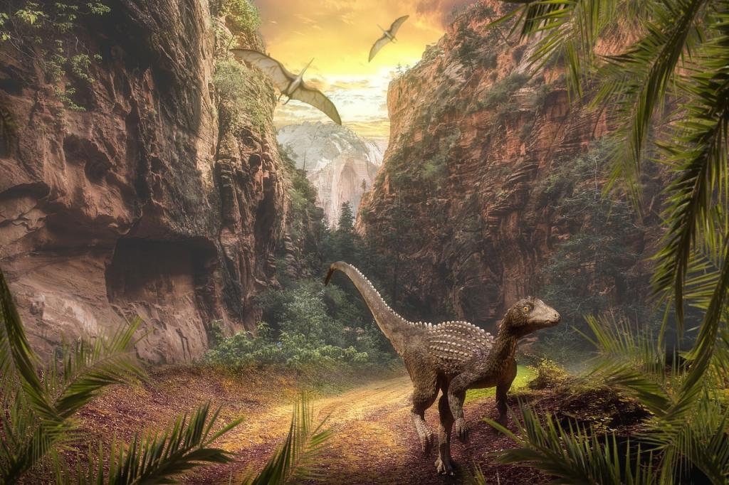 В Китае обнаружили останки ихтиозавра, подавившегося талаттозавром