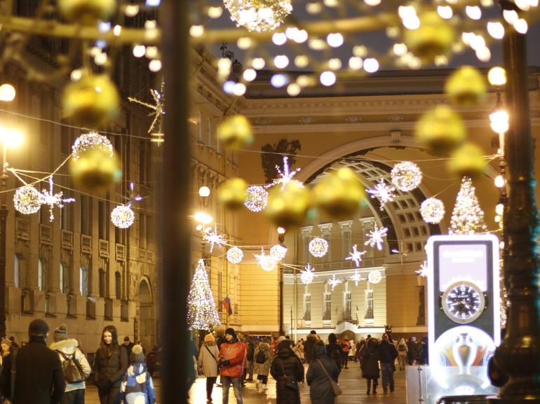 «Кира» принесет в Петербург 2 января мокрый снег с дождем