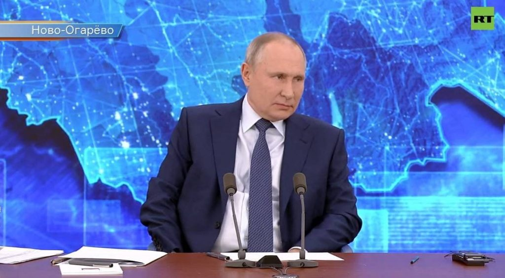 Путин считает Россию страной уникальных возможностей для талантливого человека
