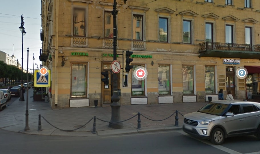 КГИОП закрывает старинную аптеку на Невском проспекте