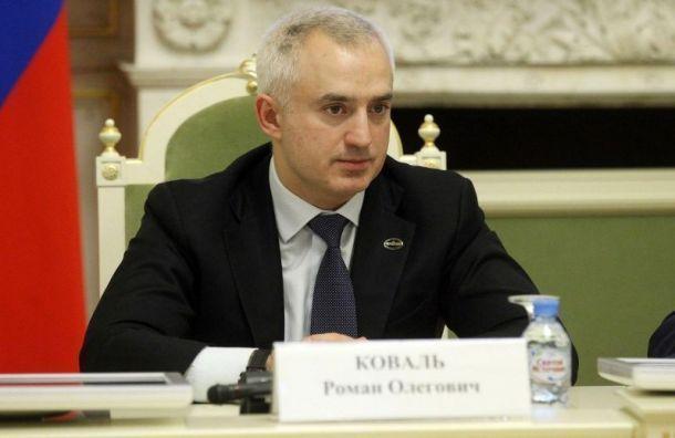 Депутат петербургского ЗакСа Роман Коваль признался в получении взятки
