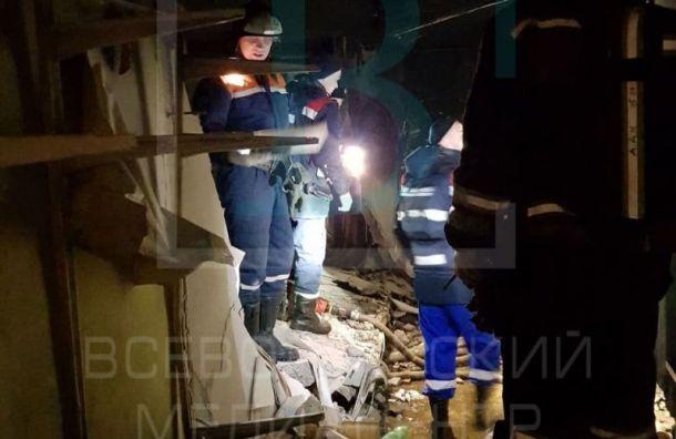 После взрыва в доме во Всеволожске возбудили уголовное дело