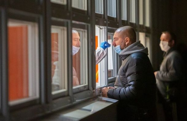 В Петербурге протестировали на наличие коронавируса свыше 43 тысяч человек