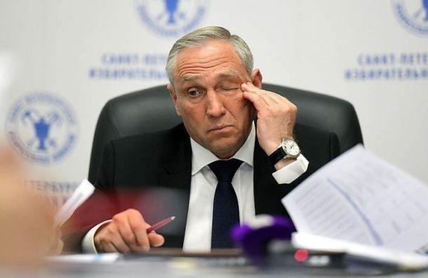 Виктор Миненко ушел с поста главы Горизбиркома Петербурга