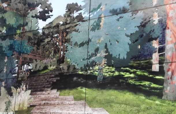 «Студия 44» Никиты Явейна победила в конкурсе на концепцию парка «Тучков буян»