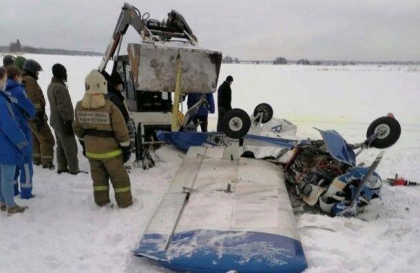 Разбившийся в Ленобласти пилот управлял самолетом больше 20 лет