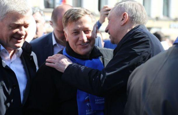 Беглов заявил, что хотел бы видеть Макарова депутатом Госдумы