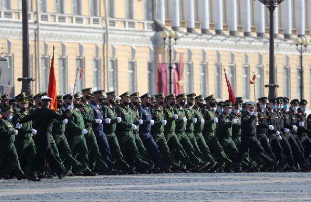 В Петербурге стартовал Парад Победы