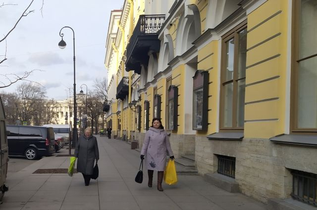 Индекс самоизоляции в Петербурге снова снижается