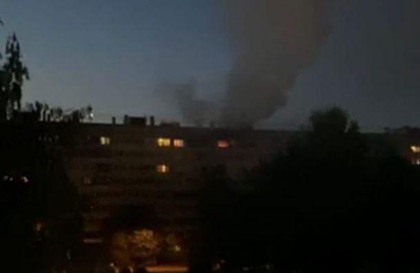 Возбуждено дело по факту пожара в доме на Выборгском шоссе: там погибли 4 человека