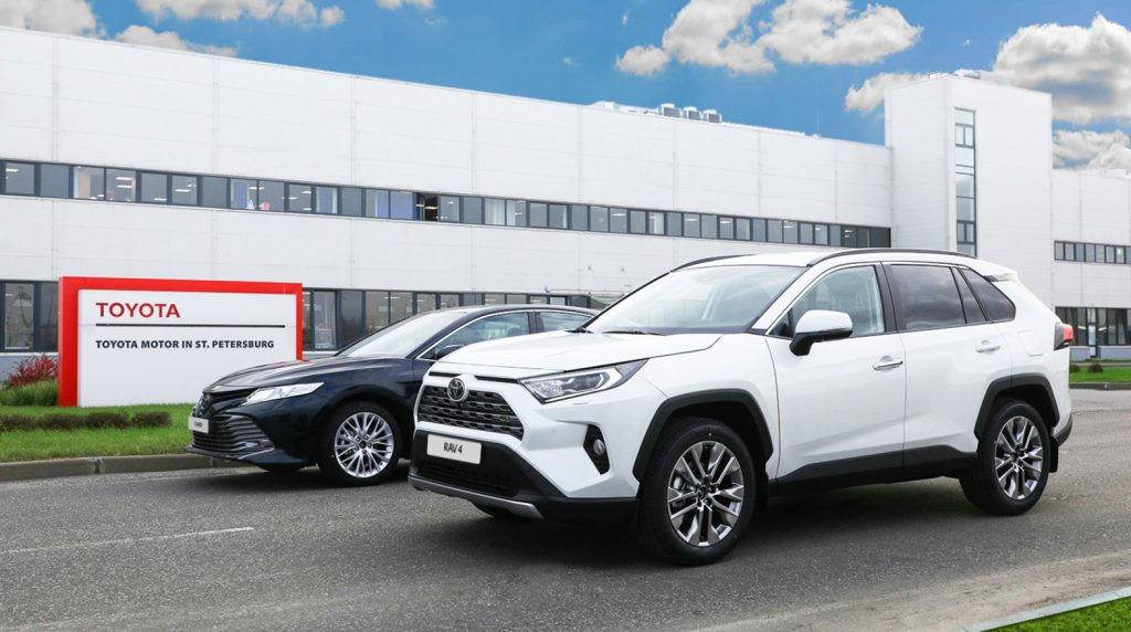 Завод Toyota в Петербурге попал в пятерку лучших иностранных корпоративных брендов в РФ