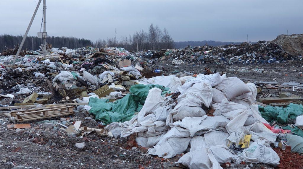В Шушарах до 2023 года ликвидируют свалку с 660 тысячами кубометров мусора