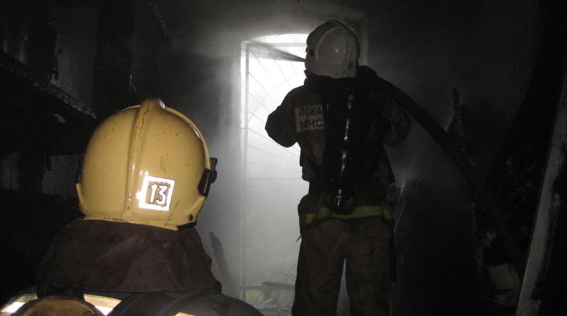 В пожаре на Купчинской погибли два человека