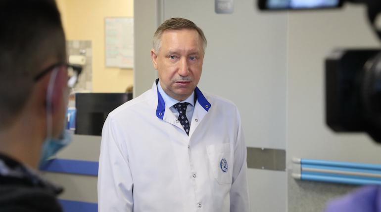 Беглов рассказал, как чувствует себя на седьмой день после прививки от COVID-19