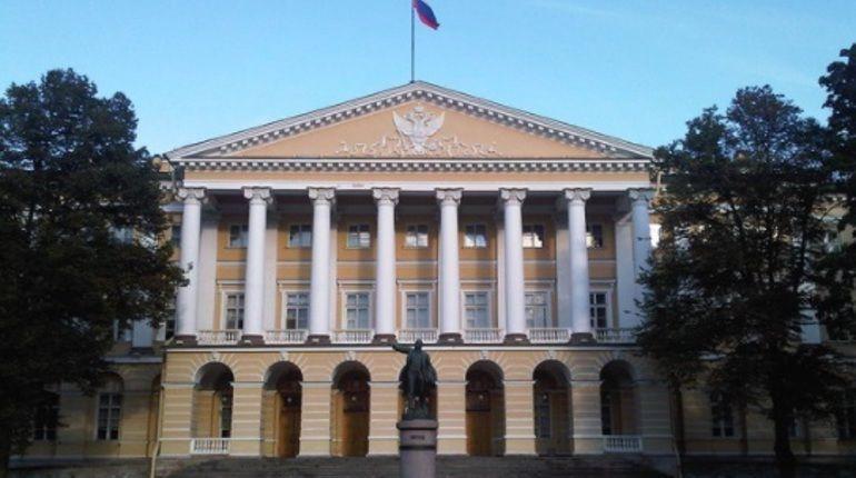 В Смольном во вторник пройдет заседание правительства Петербурга