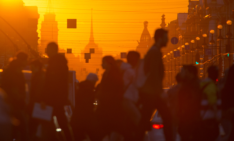 В Петербурге сегодня будет самый теплый день весны, 90 лет назад ночью был минус