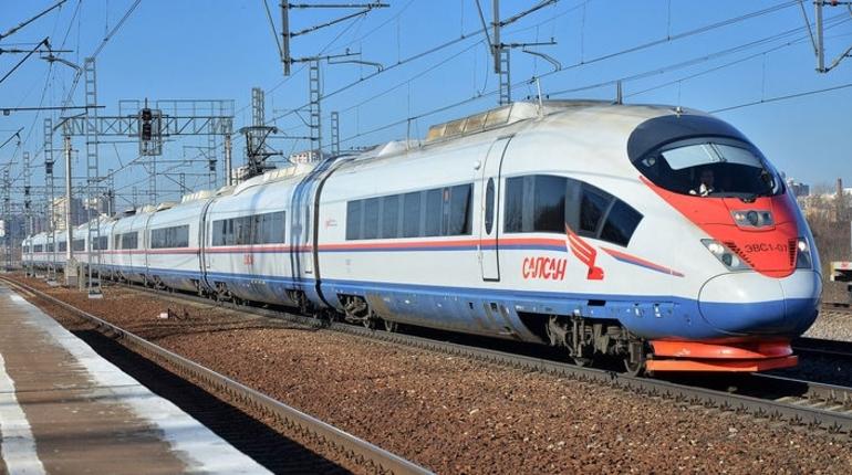 РЖД в мае запустит дополнительные «Сапсаны» между Москвой и Петербургом