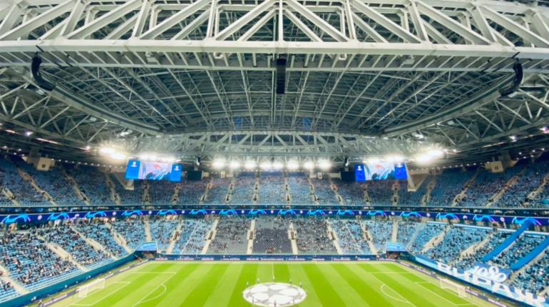 Футбольного фаната оштрафовали за отсутсвие маски на матче «Зенит» — «Брюгге»