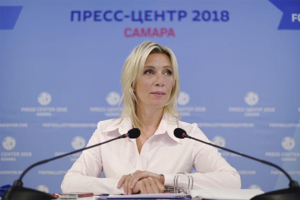 Захарова ответила на призывы Германии говорить с Россией с «позиции силы»