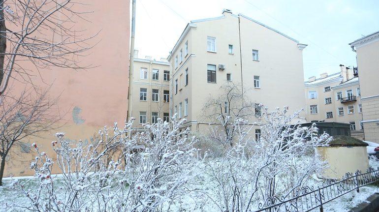 В Петербурге более 6,8 тыс. дворников вышли на уборку внутриквартальных территорий