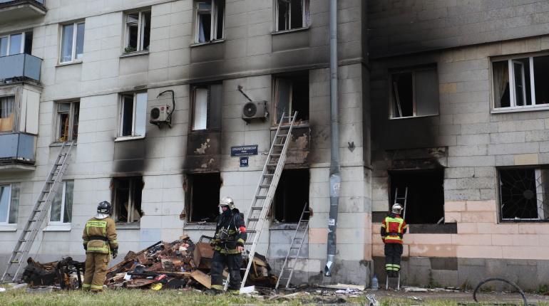 Хлопок газа на Краснопутиловской временно оставил без жилья две семьи
