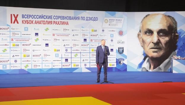 Беглов и Путин поприветствовали участников соревнований по дзюдо в Петербурге