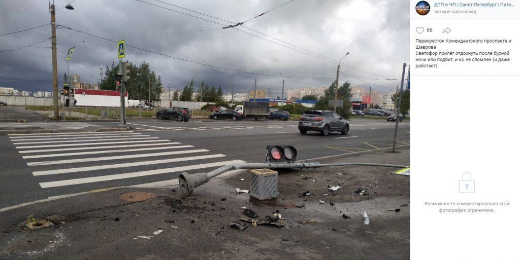 Петербуржцев пугают штормовым ветром в воскресенье в 20 метров в секунду