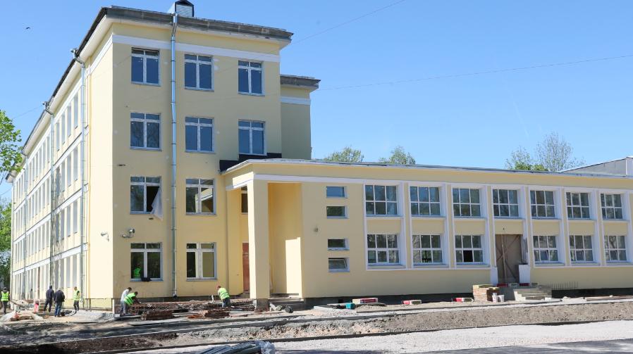 Гимназию 406 в Пушкине откроют к 1 сентября