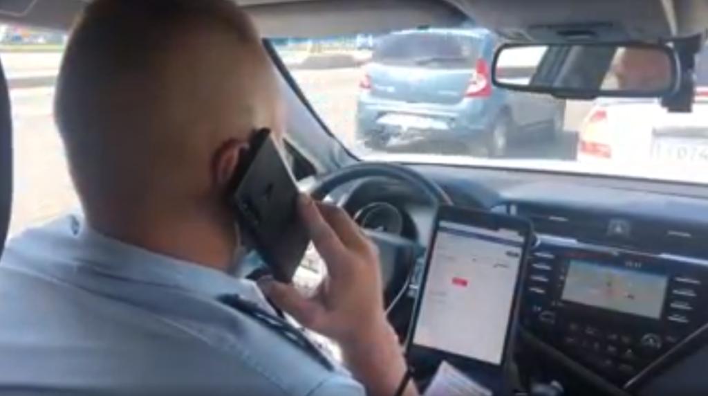 На дорогах Петербурга за выходные задержали 128 «машин-призраков»