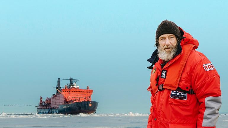 Путешественник Федор Конюхов проведет на льдине на Северном полюсе 10 дней в одиночестве