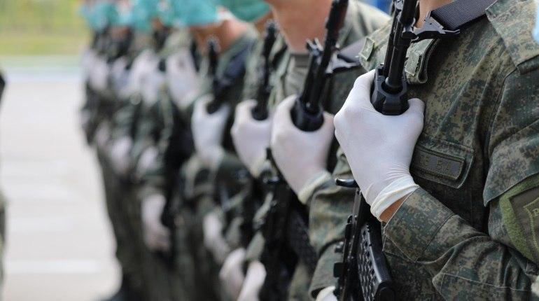 Служащие армии ЗВО выйдут на Парад Победы с новейшим оружием